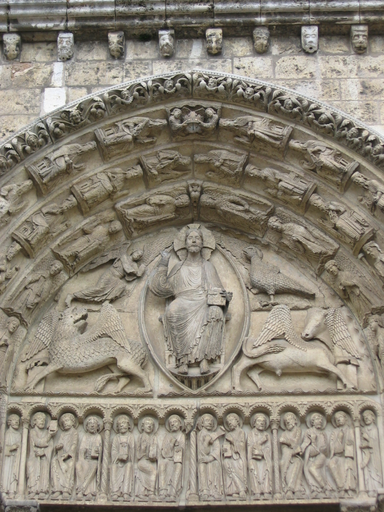 Christ in Majesty Chartres Cathedral