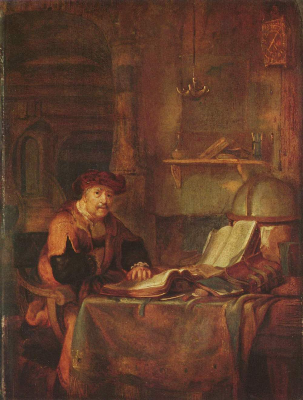 scholar-and-his-books