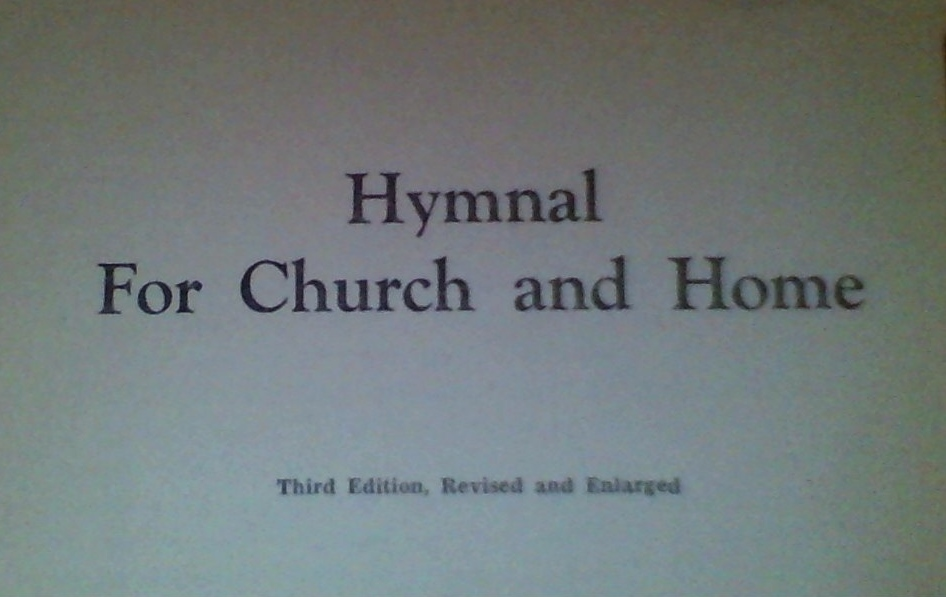 Hymnal for Church and Home 1938
