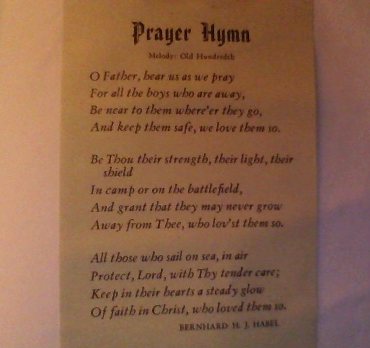 O Father, Hear Us As We Pray
