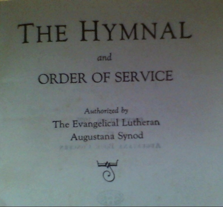 Hymnal and Order of Service 1925