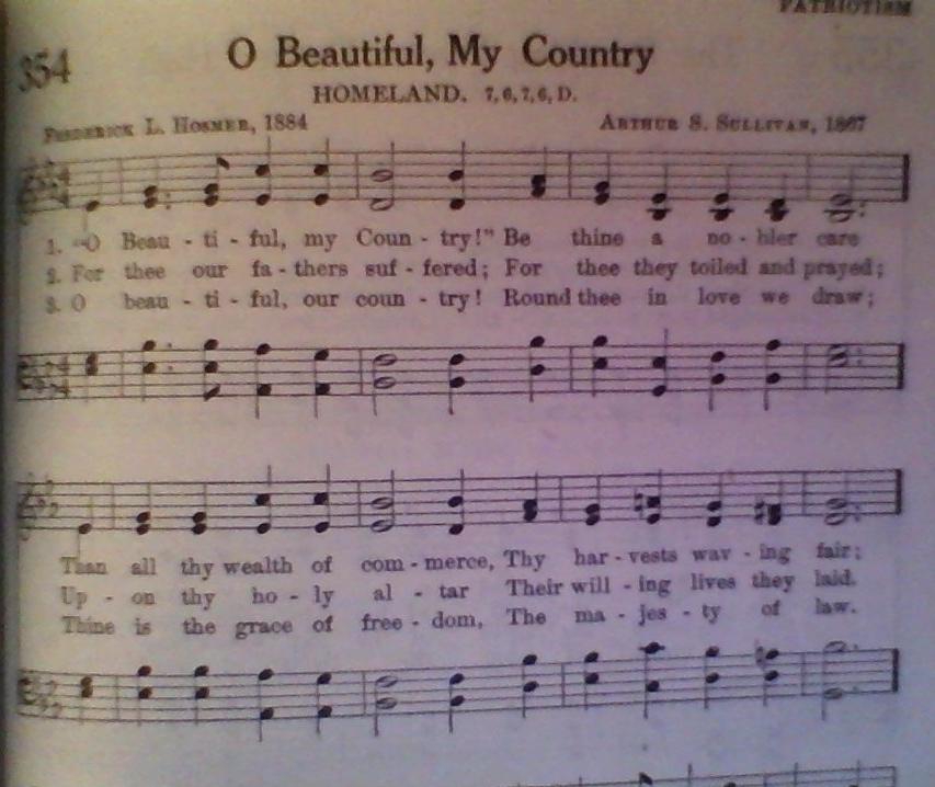 O Beautiful, My Country