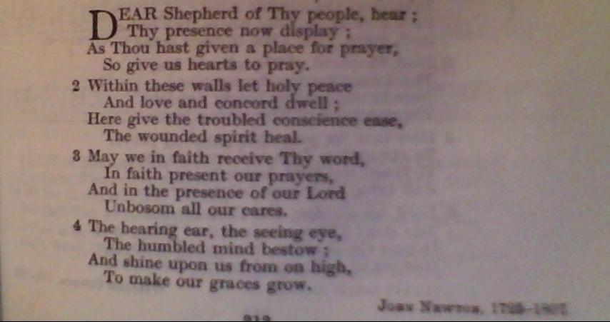Dear Shepherd
