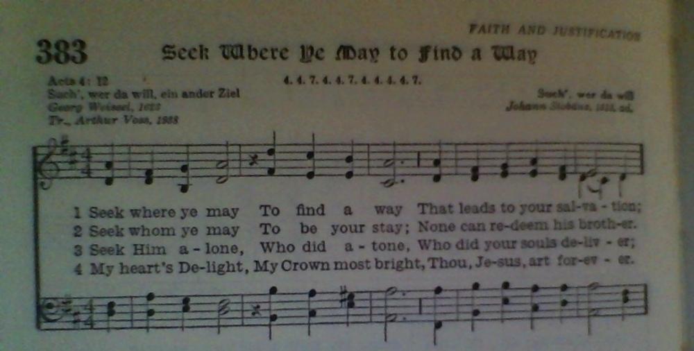 Seek Where Ye May Find a Way