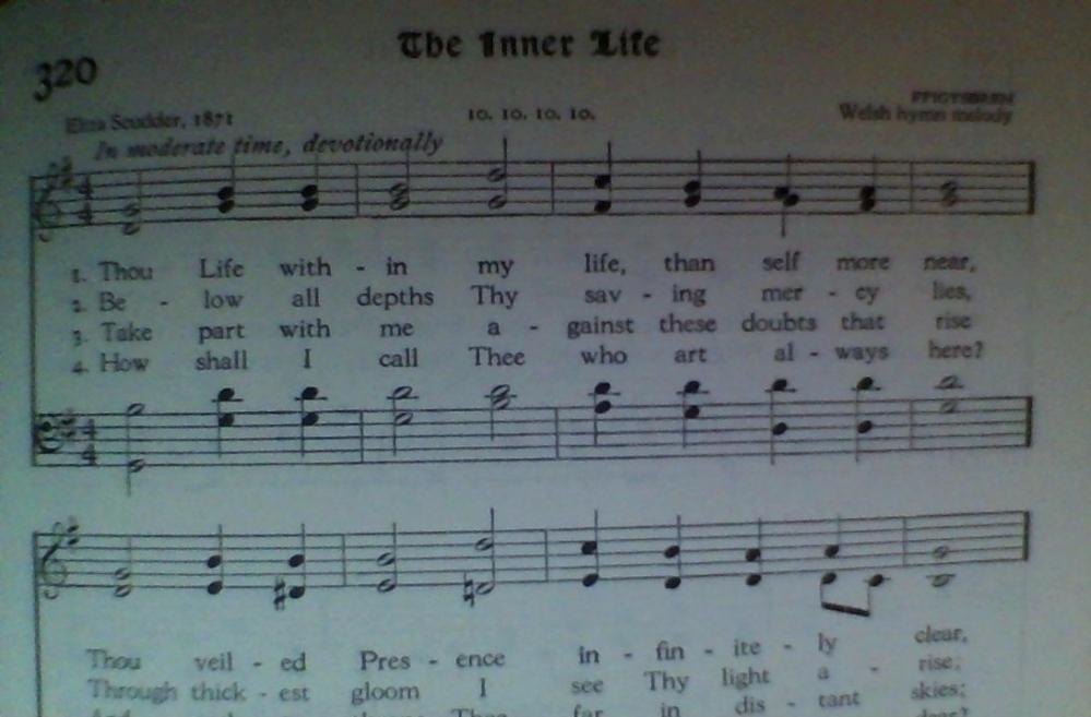 Thou Life Within My Life