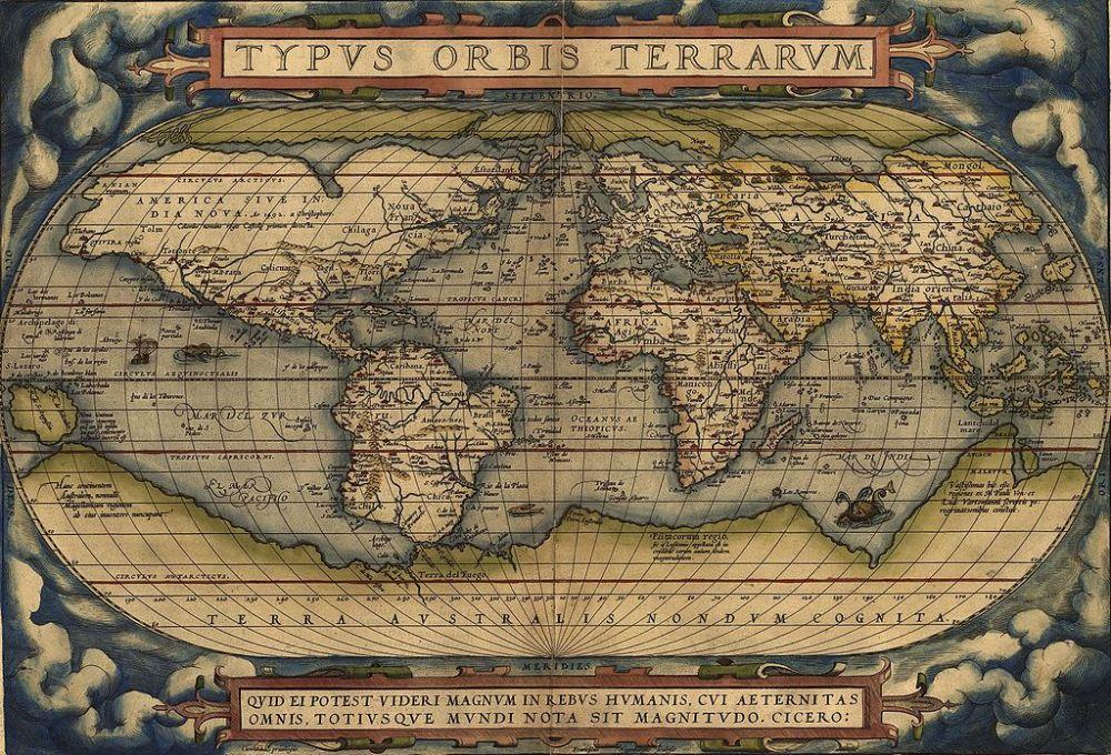 World Map 1570