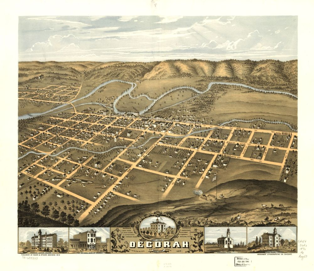 Decorah, Iowa, 1870