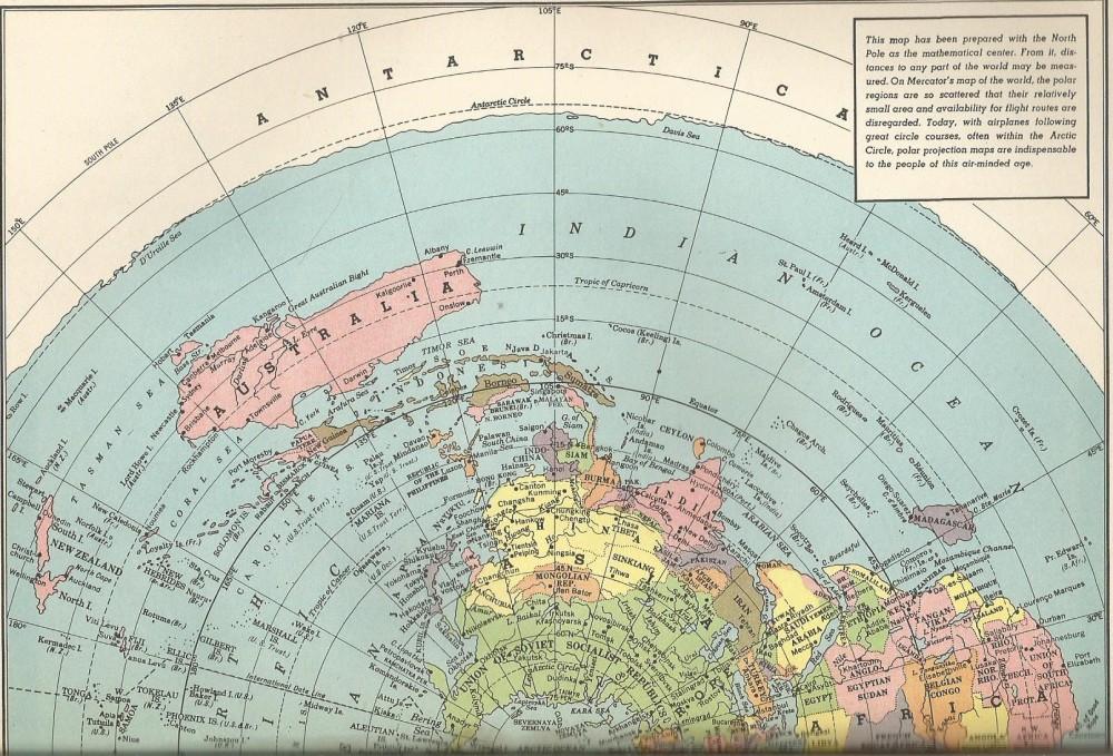 Polar Projection 1951 Alpha