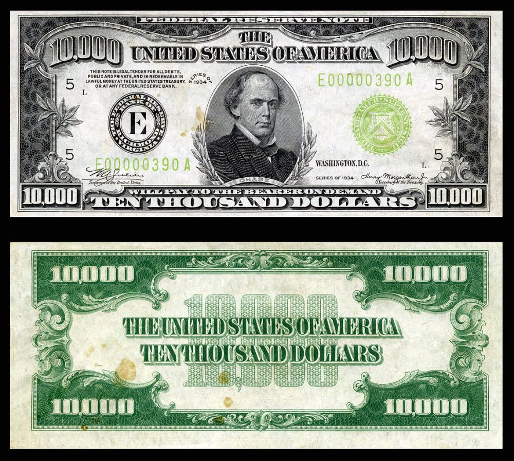 $10,000 1934
