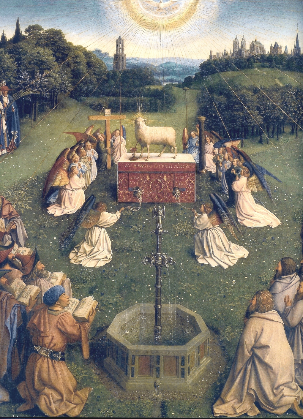 Adoration of the Lamb--Jan van Eyck