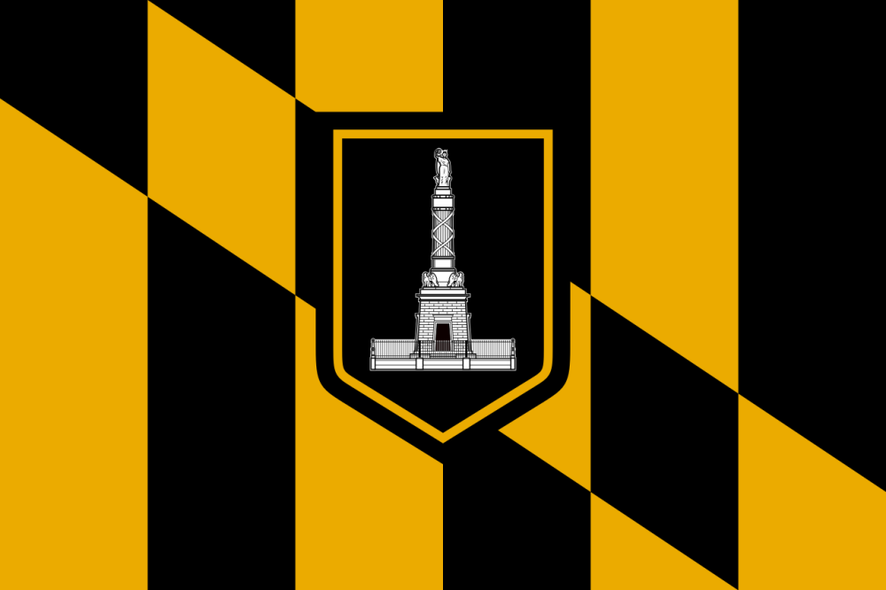 Flag of Baltimore, Maryland