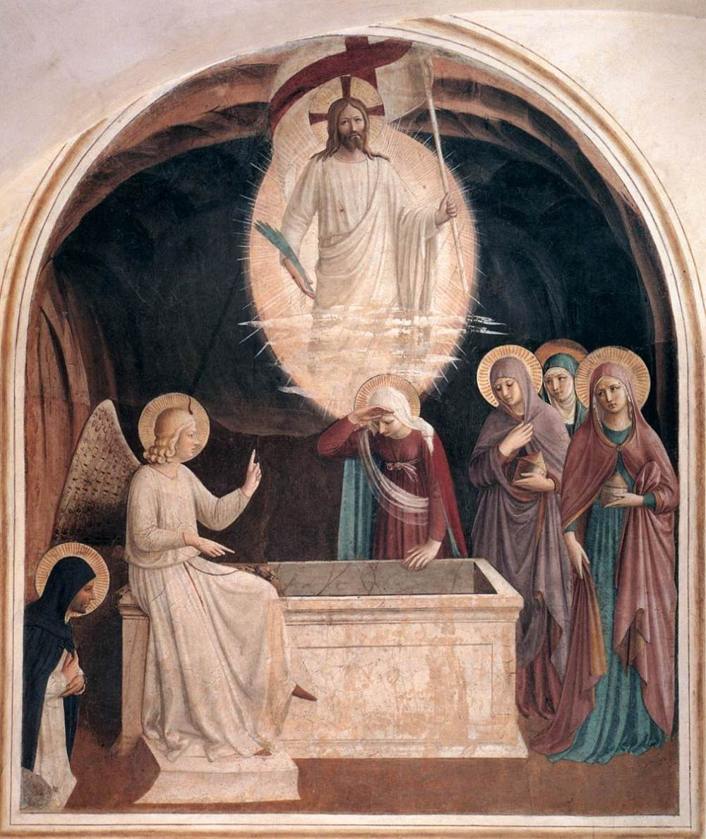 Resurrection of Christ and Women at the Tomb Fra Angelico