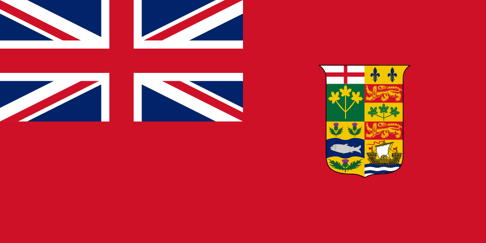 Flag of Canada 1868-1921