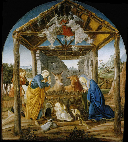 Nativity Botticelli