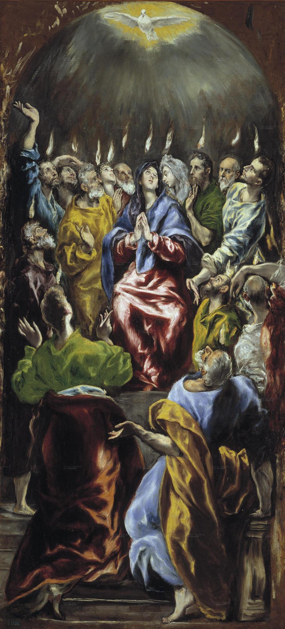 Pentecost El Greco