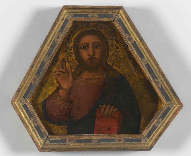 Christ Blessing--Nardo di Cione