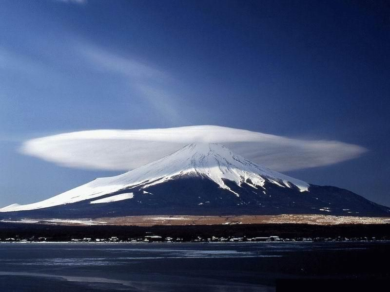 Cloud Over a Mountain