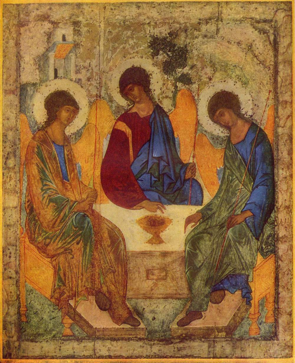 Holy Trinity Icon Andrei Rublev