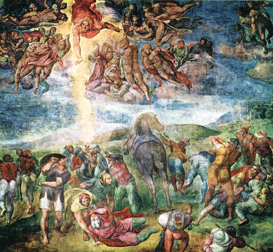 Conversion of St. Paul--Michaelangelo Buonarroti