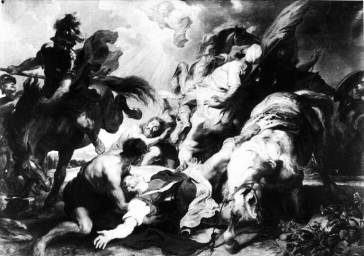 Conversion of St. Paul--Rubens