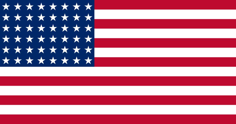 U.S. Flag 1912-1959