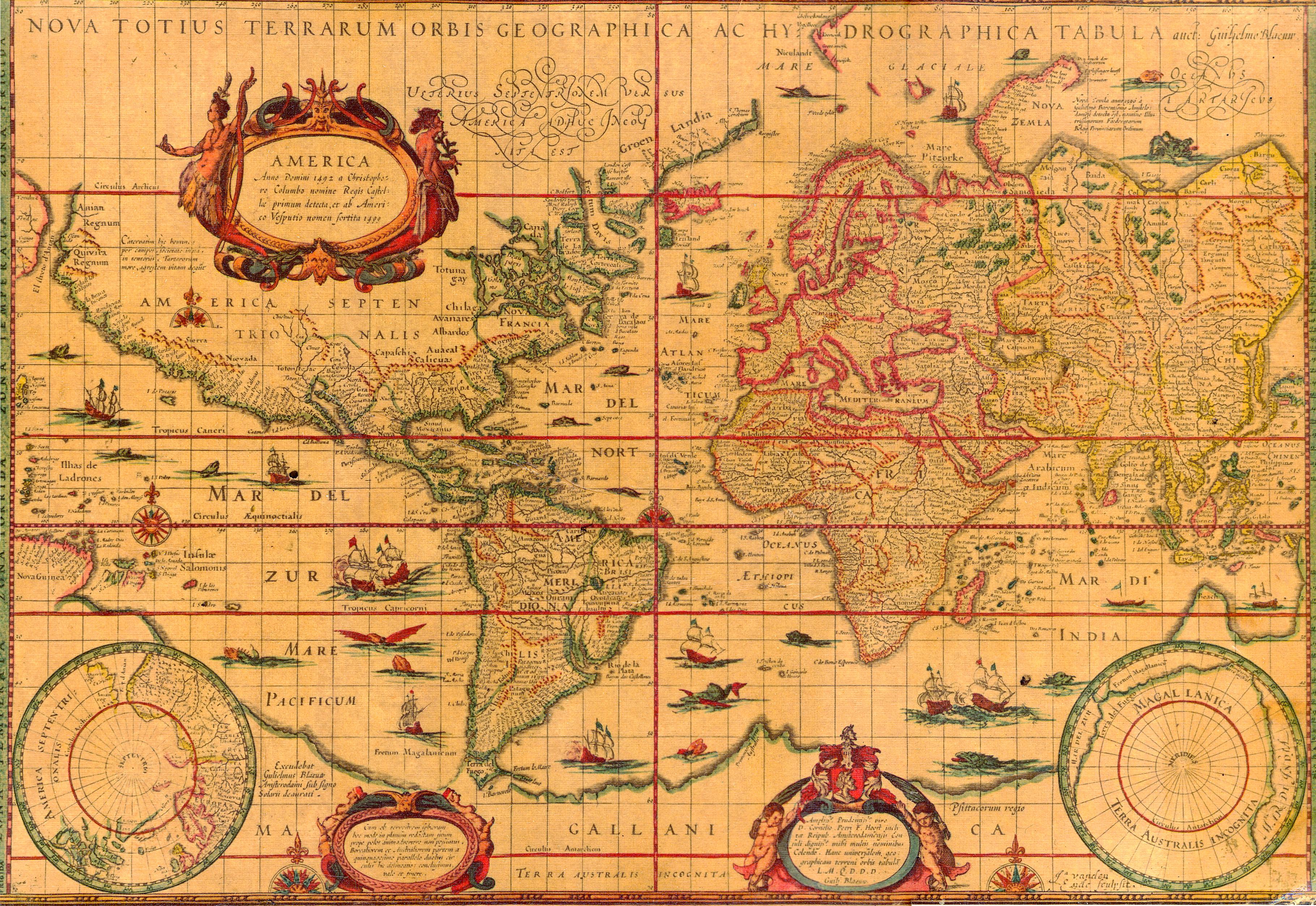 World Map 1606