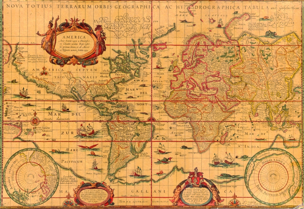 World Map 1606