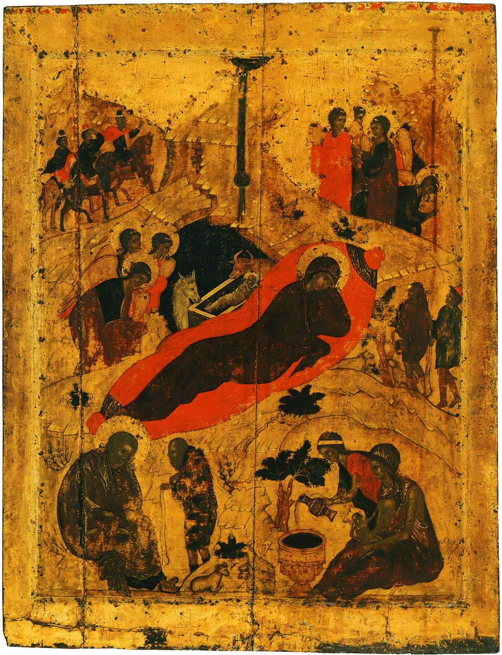 Icon of the Nativity Andrei Rublev