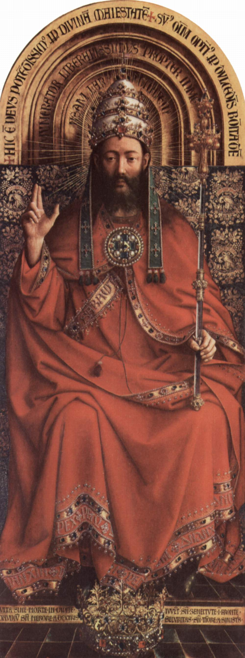 Christ the King Jan Van Eyck