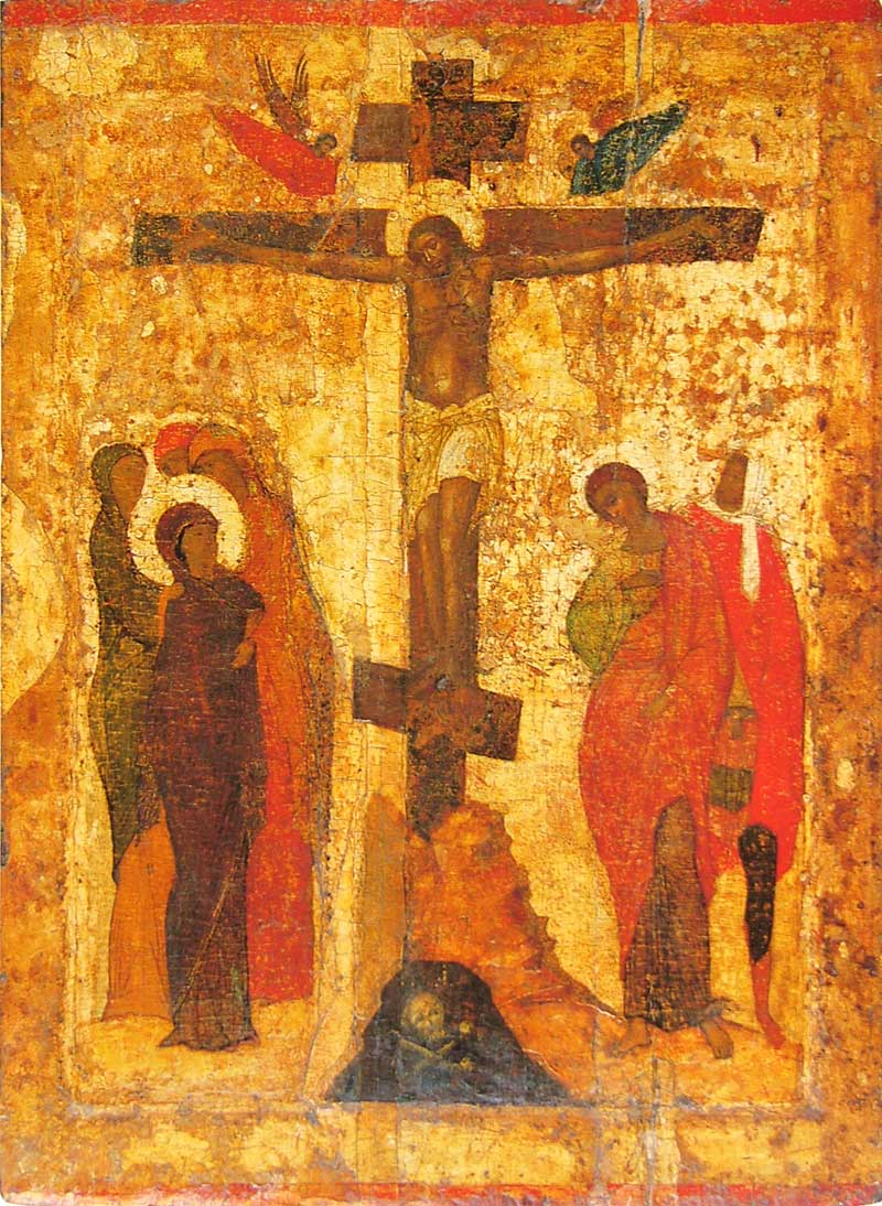 Icon of the Crucifixion Rublev