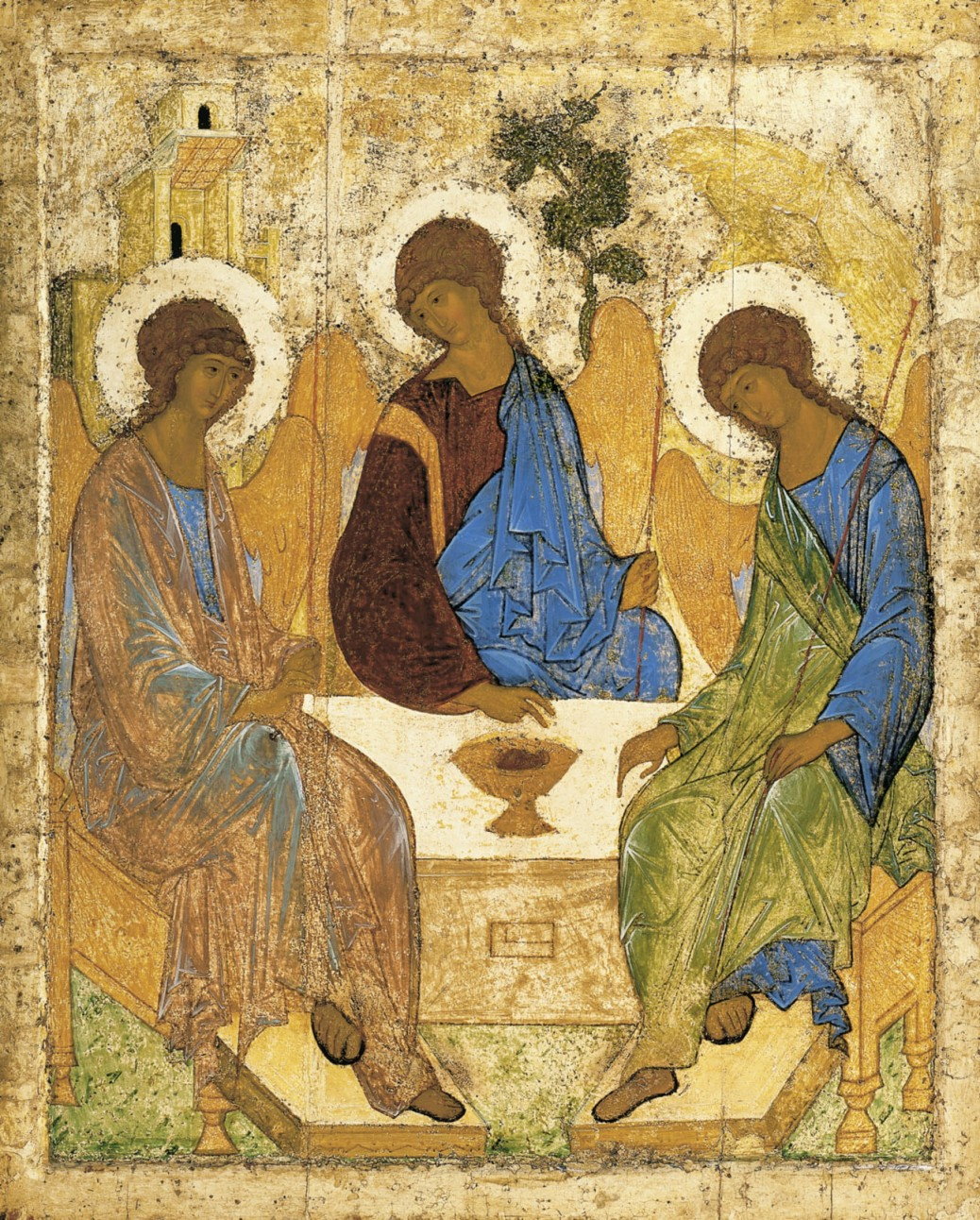 Icon of the Holy Trinity Andrei Rublev