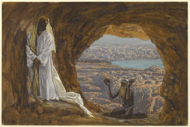 Jesus Tempted in the Wilderness James Tissot