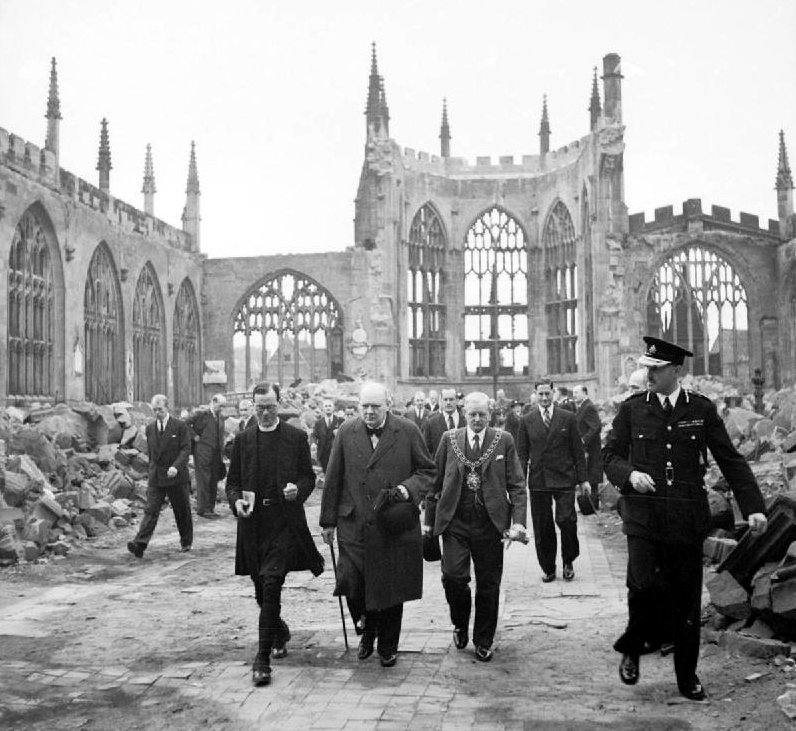 Coventry Cathedral 1941