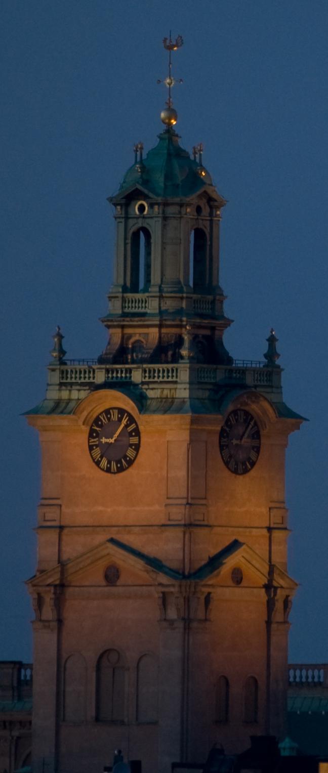 Storkyrkan Church Tower