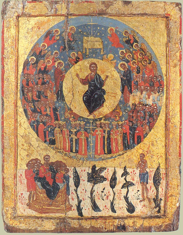 Christ Enthroned in Heaven